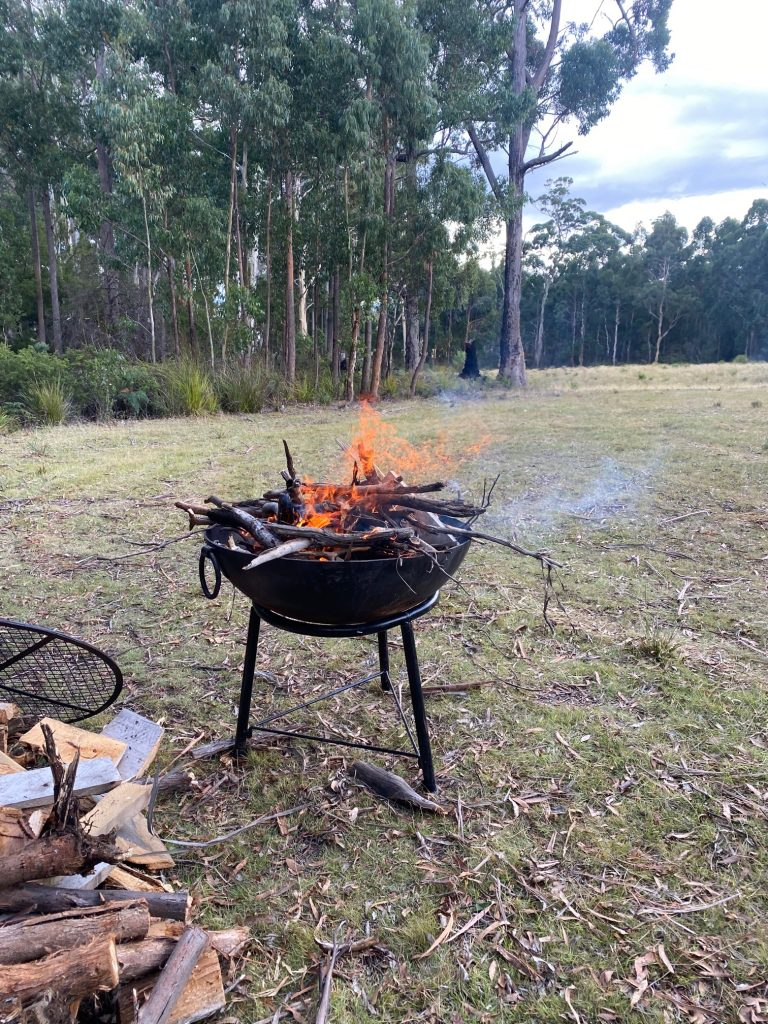 camping bruny island